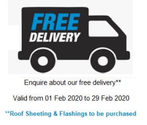 Free Delivery February 2020