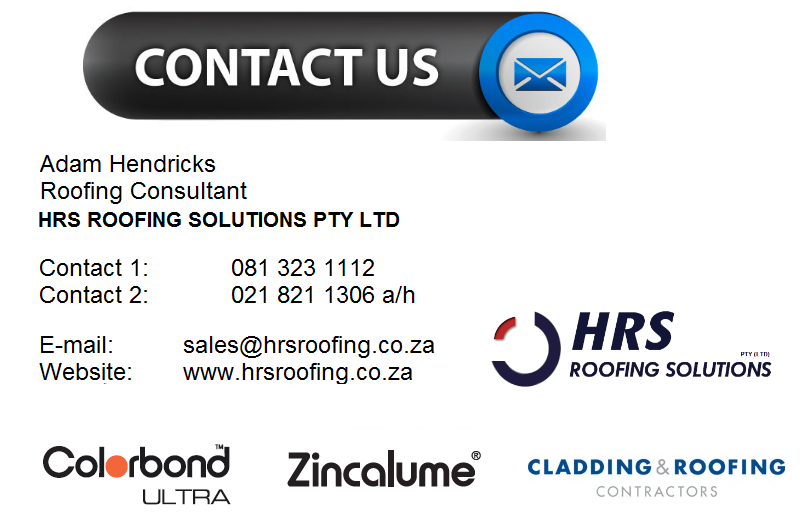 Hrs roofing solutions contact details, roof sheeting contact details cape town, roof sheeting contacts vredenburg, roof sheeting contacts langebaan