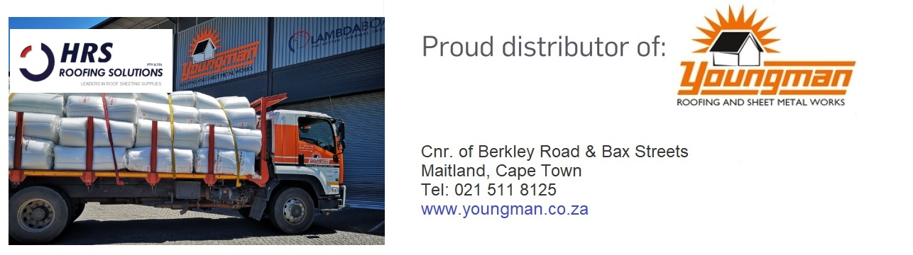 YOUNGman roofing and hrs roofing, ibr and corrugated roof sheets cape town