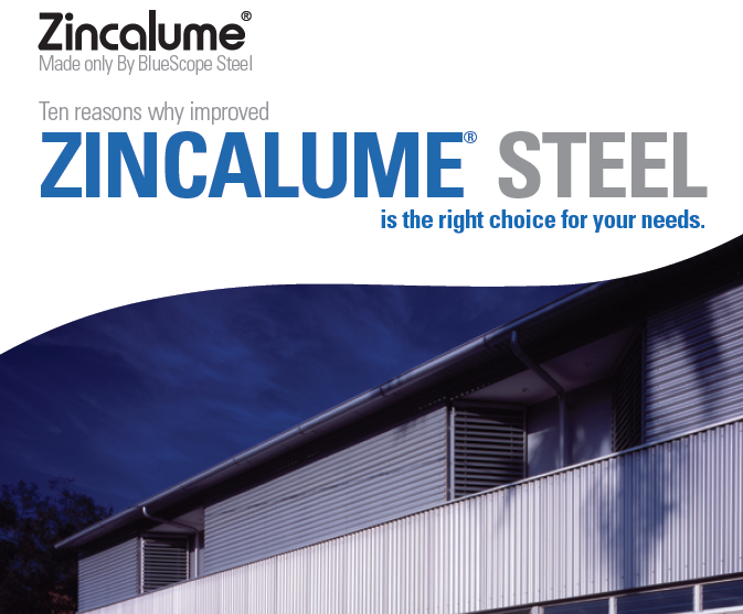 ZINCALUME 1 - Industrial Roofing & Cladding