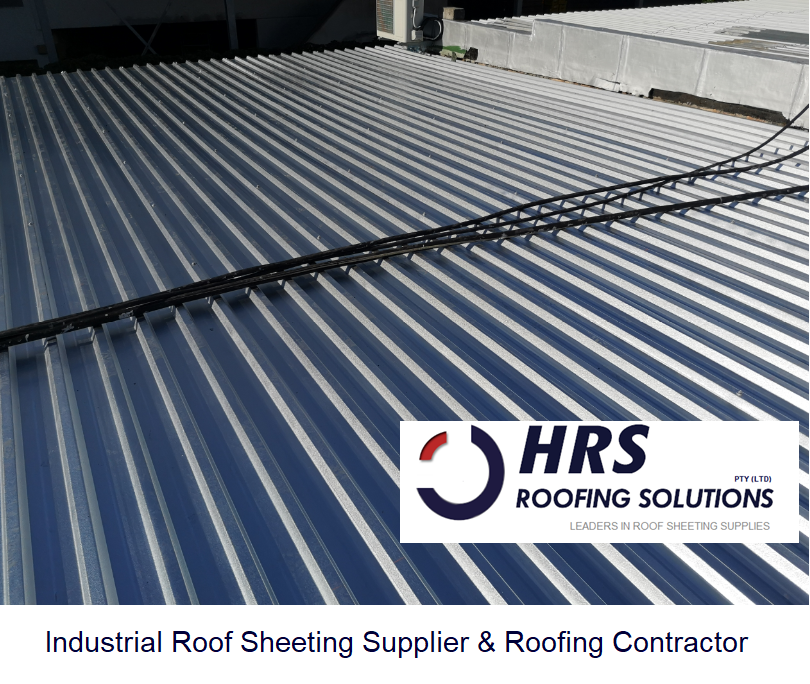 HRS roofing Industrial Roof Stellenbosch. IBR and corrugated roof sheeting cape town. Asbestos removal and asbestos disposal