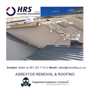 Asbestos Roof Removal Cape Town Stellenbosch paarl paardein eiland montague gardens bellville parow. Asbestos roof removal and asbestos disposal durbanville ottery western cape 300x294 - Asbestos Roof Removal & Disposal