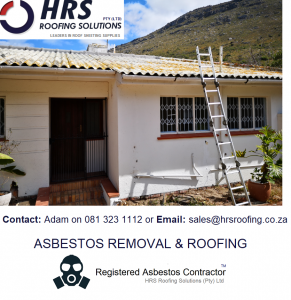 Asbestos Roof Removal Cape Town, Stellenbosch, paarl, paardein eiland, montague gardens, bellville, parow. Asbestos roof removal and asbestos disposal goodwood, someerset West, western cape