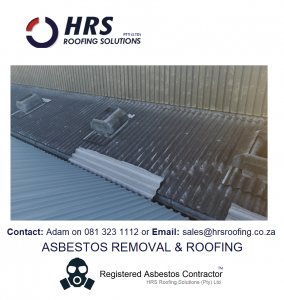 Asbestos removal cape town asbestos roof removal cape town asbestos removal paarl asbestos removal fish hoek IBR reroofing cape town IBR and corrugated rof sheets zincalume and colorbo2 284x300 - Asbestos Removal