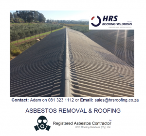 Asbestos removal cape town, asbestos roof removal cape town, asbestos removal paarl, asbestos removal fish hoek, IBR reroofing cape town, IBR and corrugated rof sheets zincalume and colorbon1