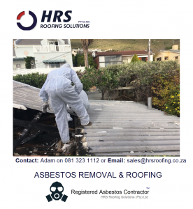 Asbestos removal cape town, asbestos roof removal cape town, asbestos removal paarl, asbestos removal fish hoek, IBR reroofing cape town, IBR and corrugated rof sheets zincalume and colorbon13