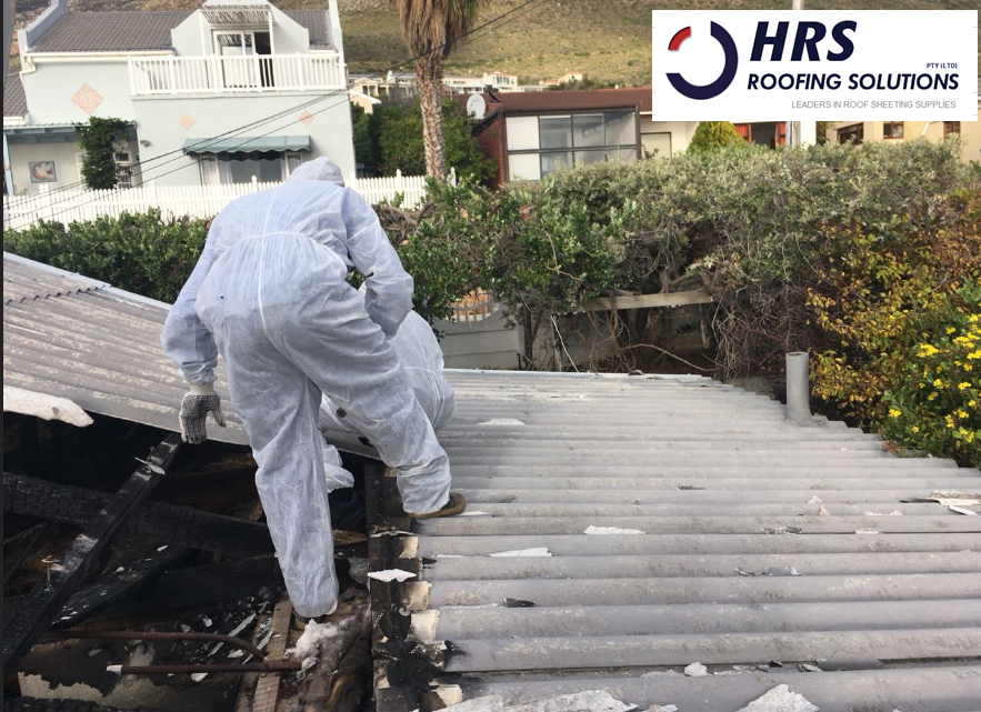 Asbestos removal cape town, asbestos roof removal cape town, asbestos removal paarl, asbestos removal fish hoek, IBR reroofing cape town, IBR and corrugated rof sheets zincalume and colorbond 7