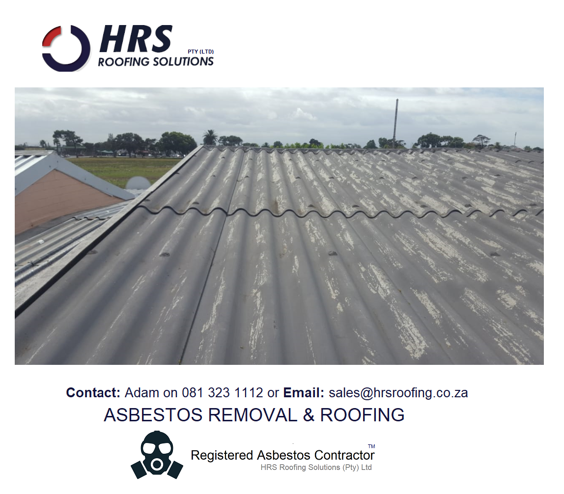 Asbestos roof removal cape town, asbestos roof removal cape town, asbestos removal paarl, asbestos removal fish hoek, IBR reroofing cape town, IBR and corrugated rof sheets zincalume and colorbon17