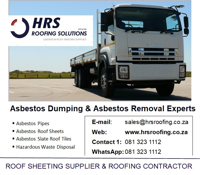 HRS Roofing Solutions – Roofing Contractor Cape Town, Asbestos Removal and Asbestos Dumping in Caoe Town, South Africa, IBR and Corrugated roof sheeting 23