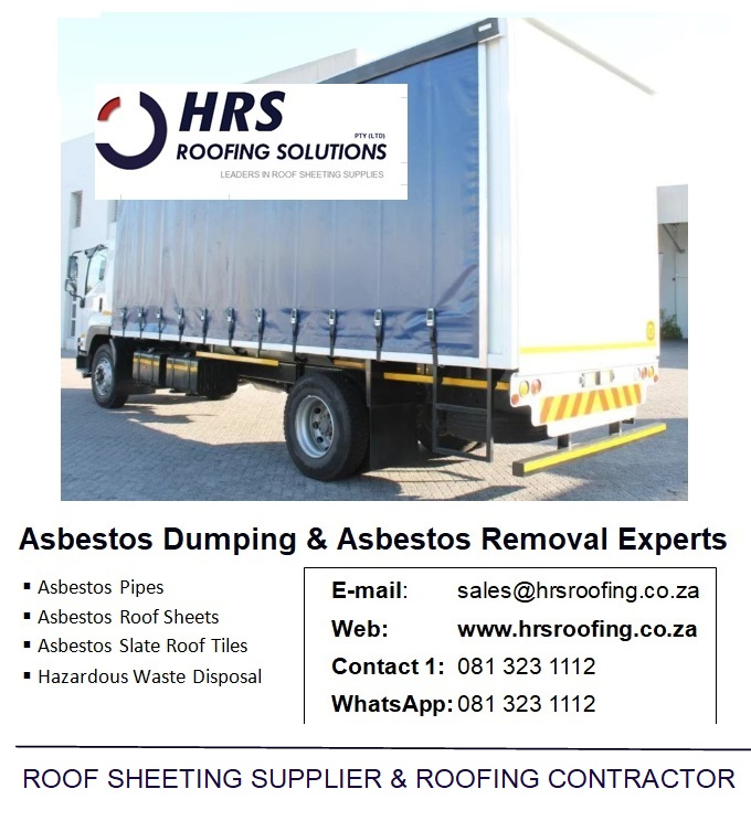 HRS Roofing Solutions – Roofing Contractor Cape Town, Asbestos Removal and Asbestos Dumping in Caoe Town, South Africa, IBR and Corrugated roof sheeting