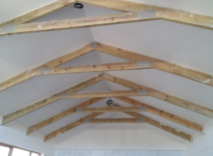 HRS ROOFING ROOFING CONTRACTOR CAPE TOWN TIMBER TRUSSES EXPOSED TIMBER TRUSSES CEILINGS 300x220 - Roofing Gallery