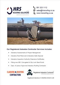 Asbestos Roof removal cape town, asbestos removal paarl, asbestos removal stellenbosch, asbestos removal