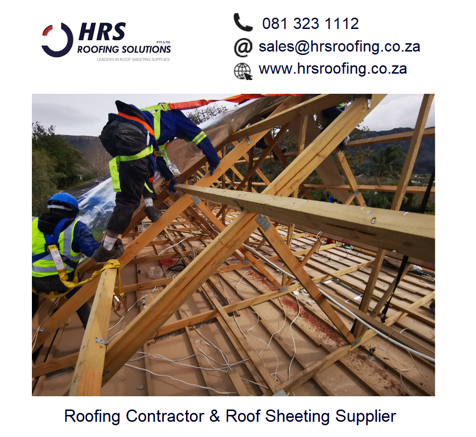 HRS Roofing Solutions Roofing Contractor Cape Town Diamondek 407 roof sheeting IBR corrugated colorbond asbestos roof removal and disposal - Roofing Gallery