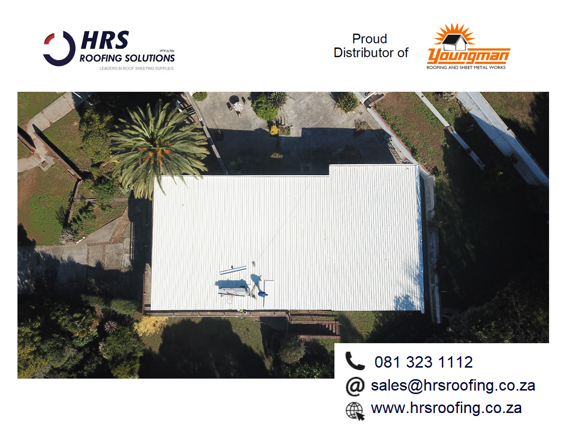 HRS Roofing Solutions Roofing Contractor Cape Town Diamondek 407 roof sheeting IBR corrugated colorbond gordons bay