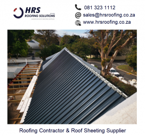 HRS Roofing Solutions Roofing Contractor Cape Town Diamondek 407 roof sheeting IBR corrugated colorbond somerset west cape town 2 300x281 - HRS RoofCo Pics
