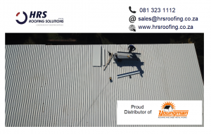 HRS Roofing Solutions Roofing Contractor Cape Town Diamondek 407 roof sheeting IBR corrugated colorbond somerset west cape town 300x190 - HRS RoofCo Pics