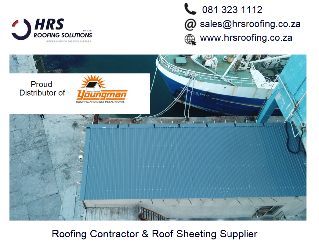 HRS Roofing Solutions Roofing Contractor Cape Town Diamondek 407 roof sheeting IBR corrugated colorbond somerset west cape town bellville - Roofing Gallery