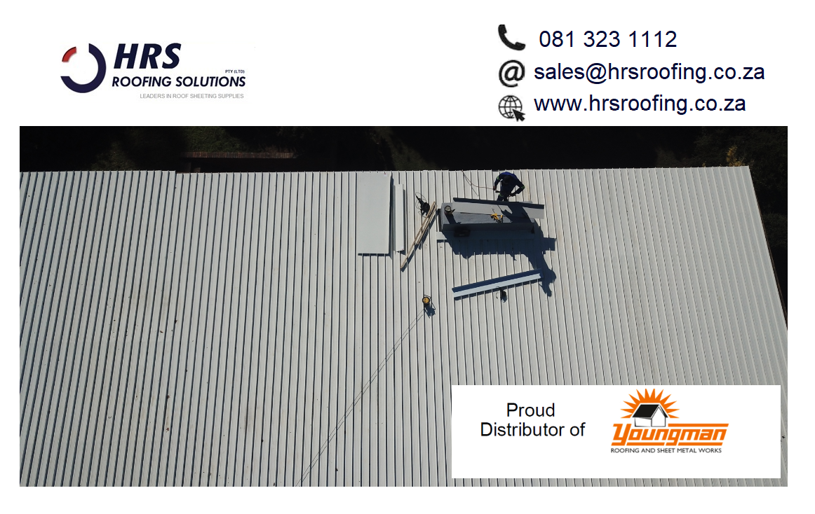 HRS Roofing Solutions Roofing Contractor Cape Town Diamondek 407 roof sheeting IBR corrugated colorbond somerset west cape town