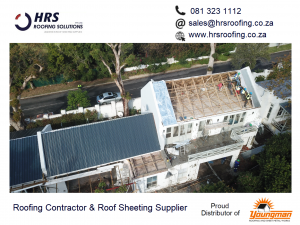 HRS Roofing Solutions Roofing Contractor Cape Town Diamondek 407 roof sheeting IBR corrugated colorbond somerset west parklands 300x225 - HRS RoofCo Pics