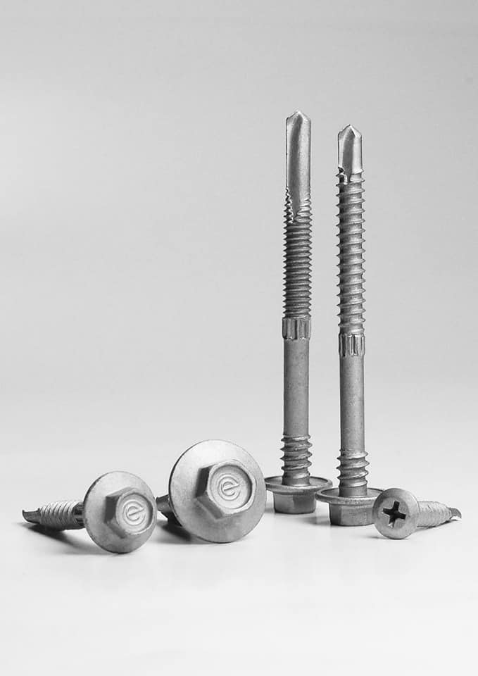 HRS Roofing 75 mm fasteners