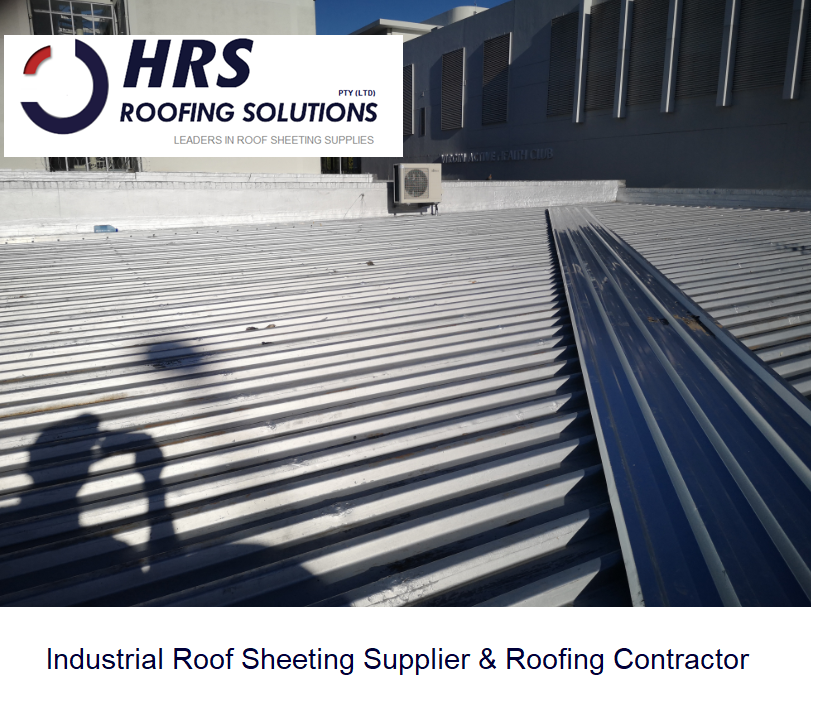 HRS roofing Industrial Roof Stellenbosch. IBR and corrugated roof sheeting c 1 - Roofing Gallery