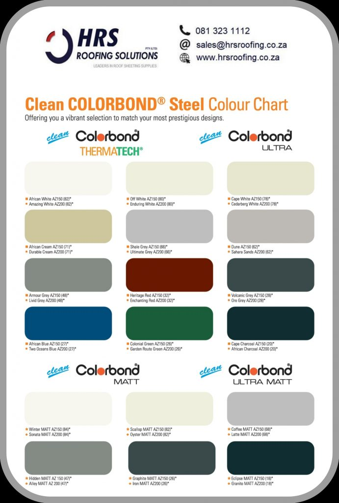 Hrs roof sheeting suppliers Colorbond roof sheeting cape town 691x1024 - Roofing Gallery