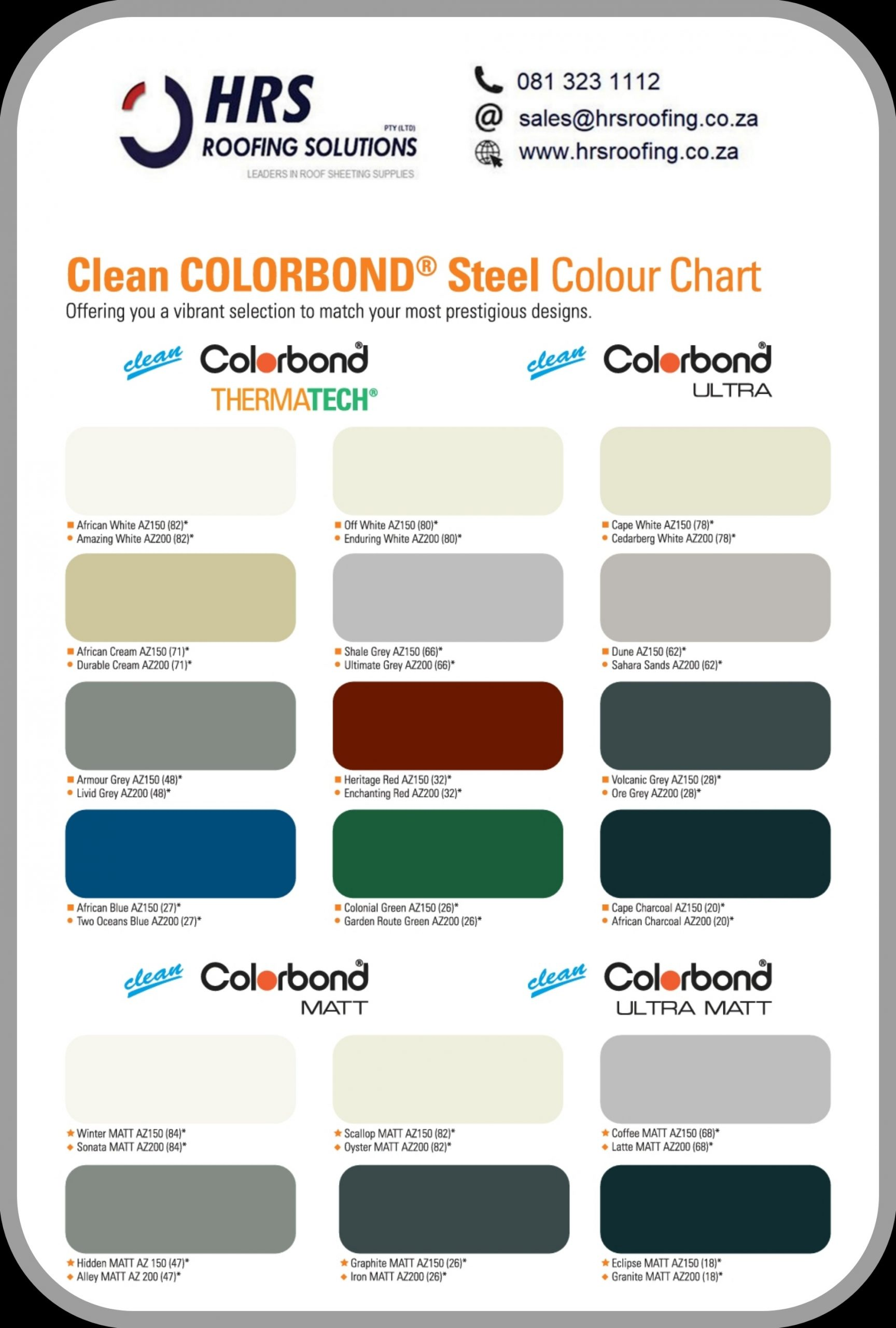 Hrs roof sheeting suppliers Colorbond roof sheeting cape town scaled - Roofing Gallery