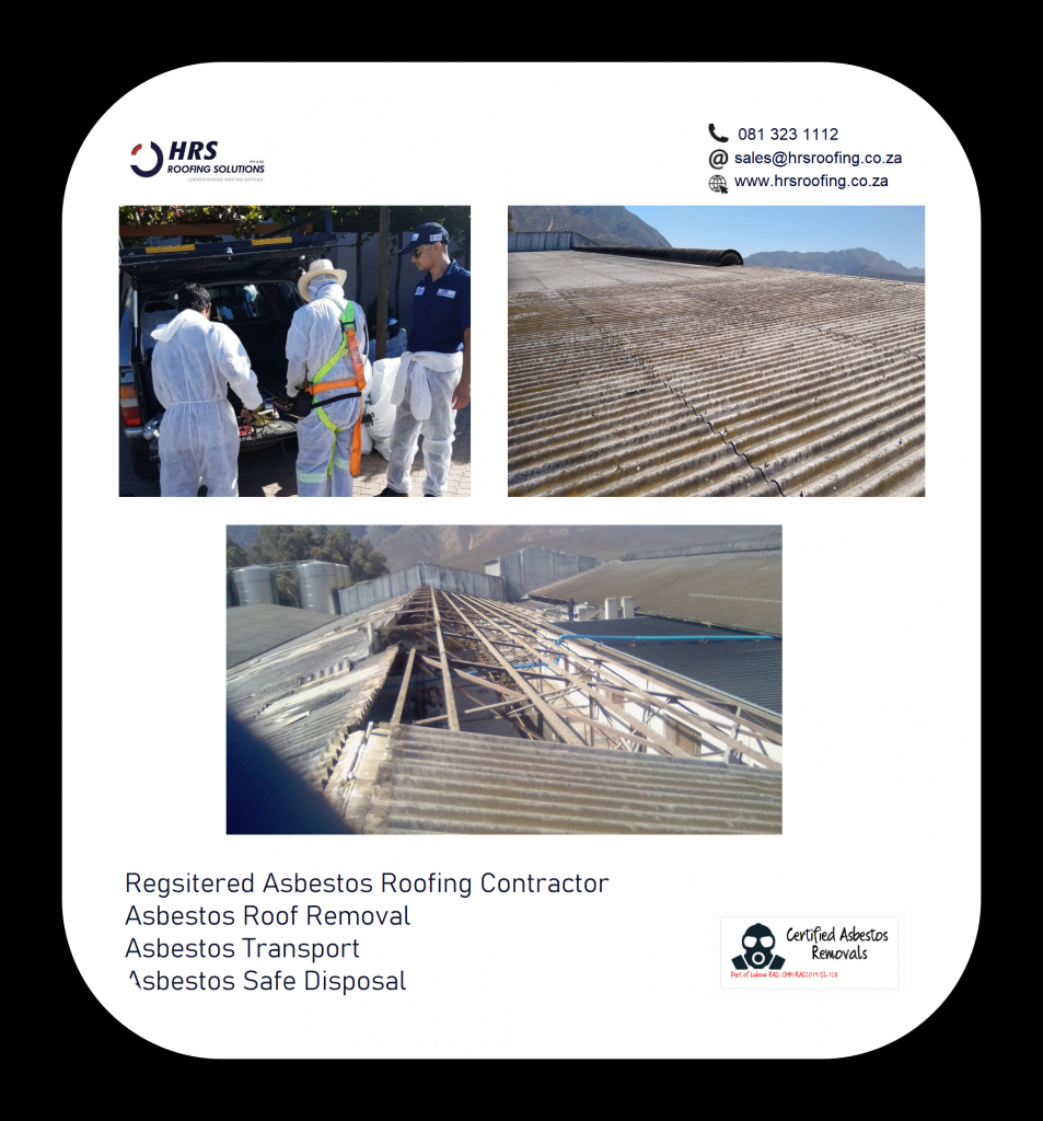 asbestos Removal or Asbestos disposal cape Town hrs roofing 953x1024 - Roofing Gallery