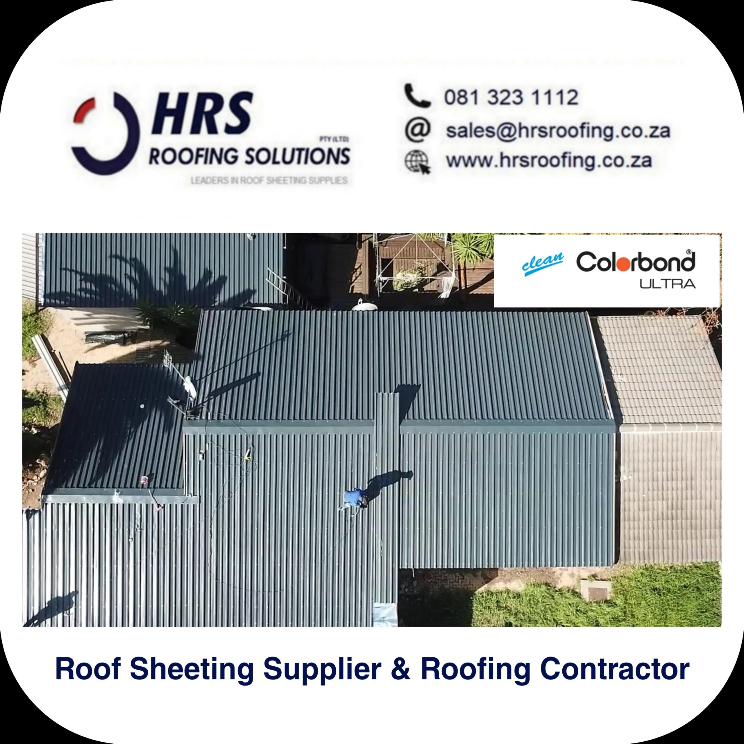 bullnose and cranked roof sheeting cape Town Zincalume Colorbond hrs roofing j scaled - Roofing Gallery