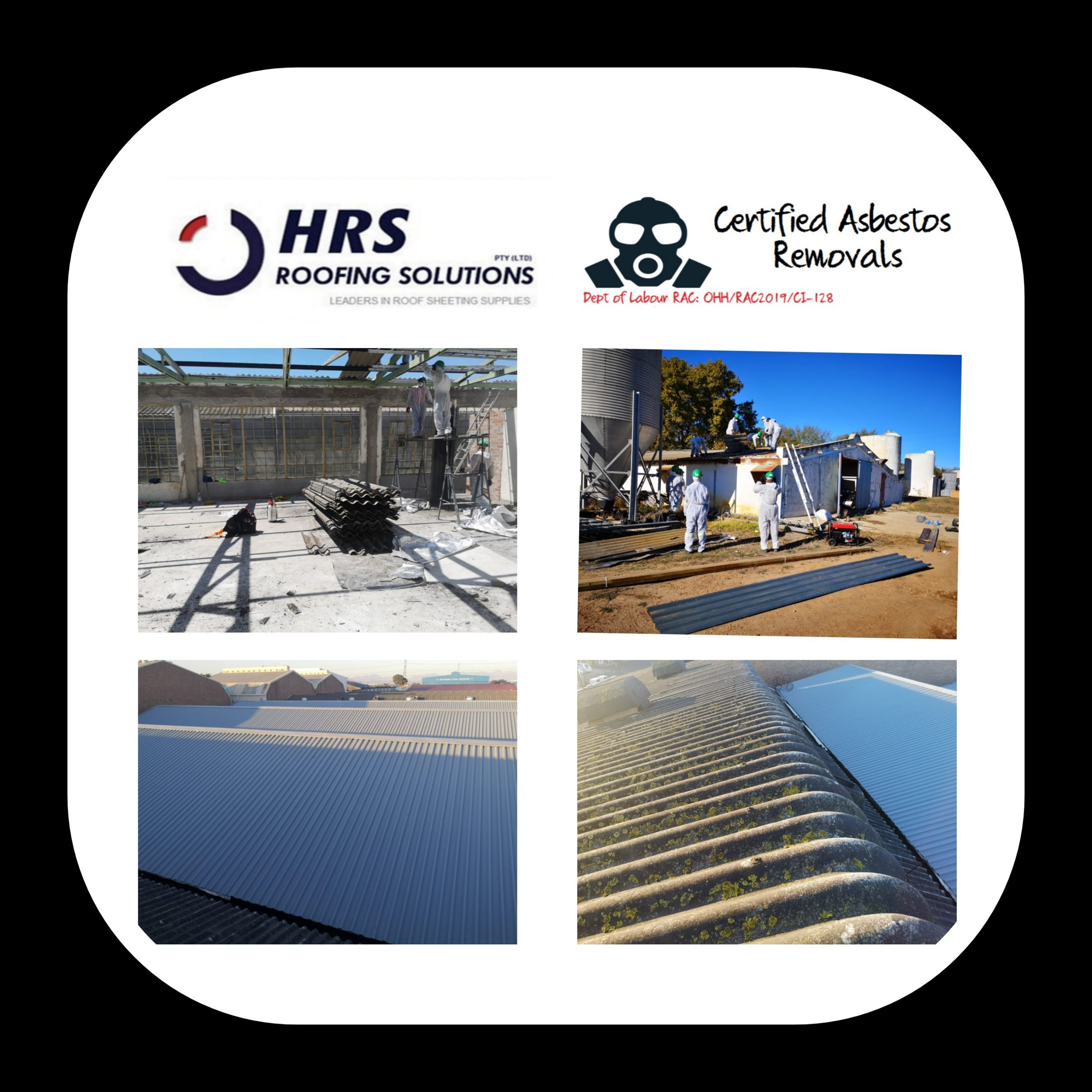 hrs roofing solutions roofing supplier cape Town Colorbond