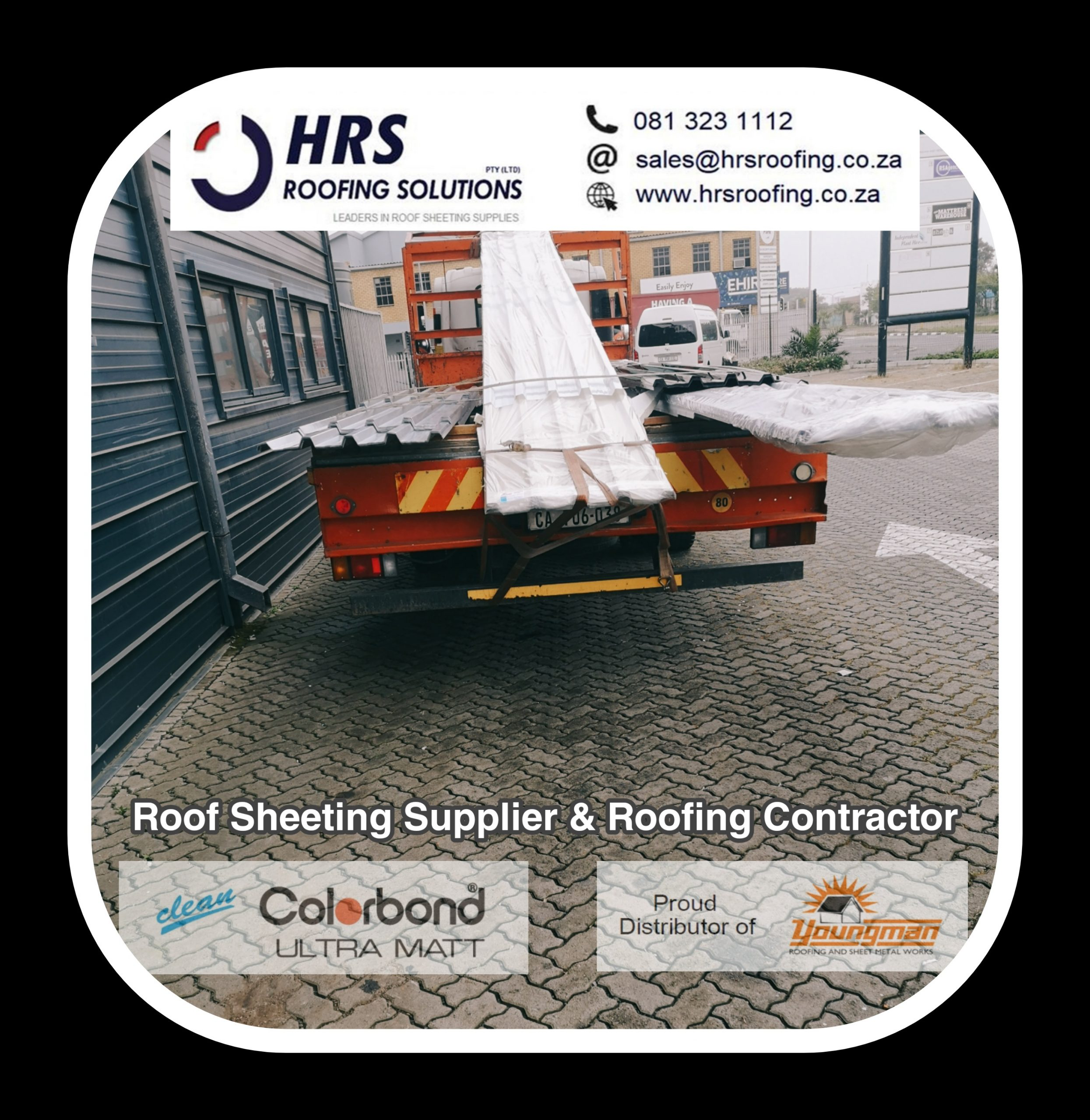hrs roofing solutions we supply ibr Corrugated diamondek 407 and Springlok 700 scaled - Roofing Gallery