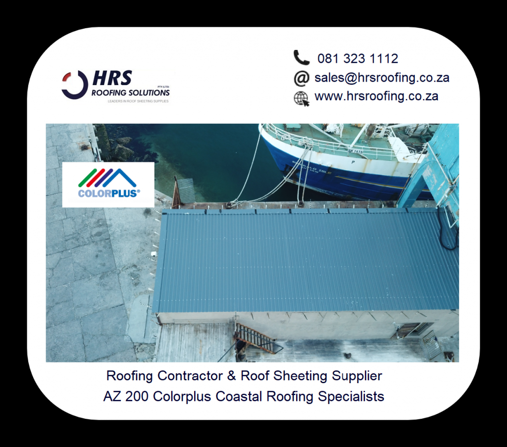 ibr Colorplus or Zincalume roof sheeting cape town hrs roofing solutions 081 323 1024x903 - Roofing Gallery