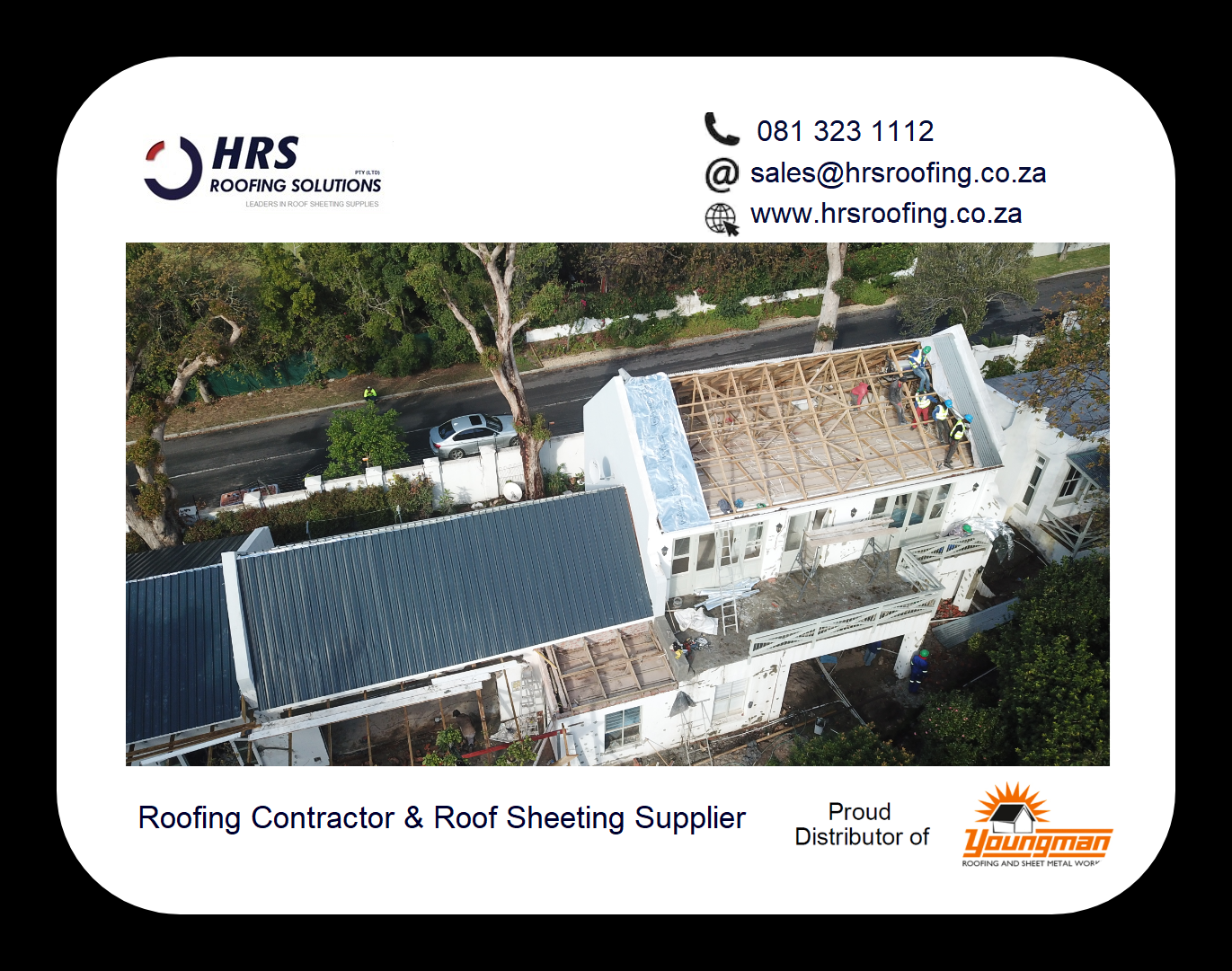 youngman roofing hrs roofing Diamondek 407 roof sheeting suppliers cape Town - Roofing Gallery