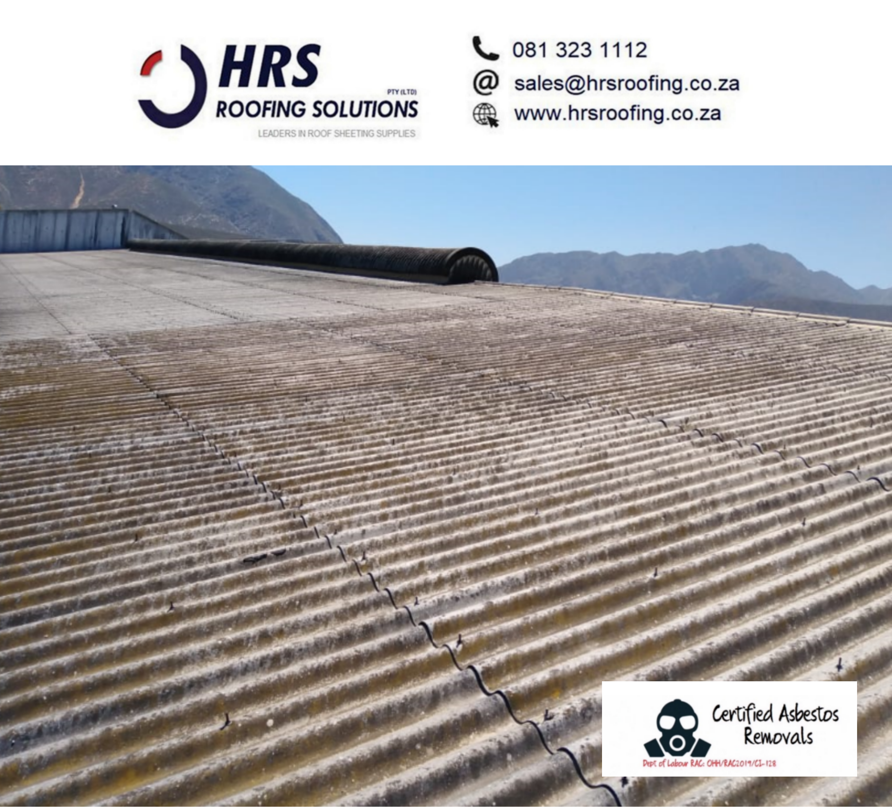 Asbestos roof removal and safe disposal cape town paarl stellenbosch - Roofing Gallery