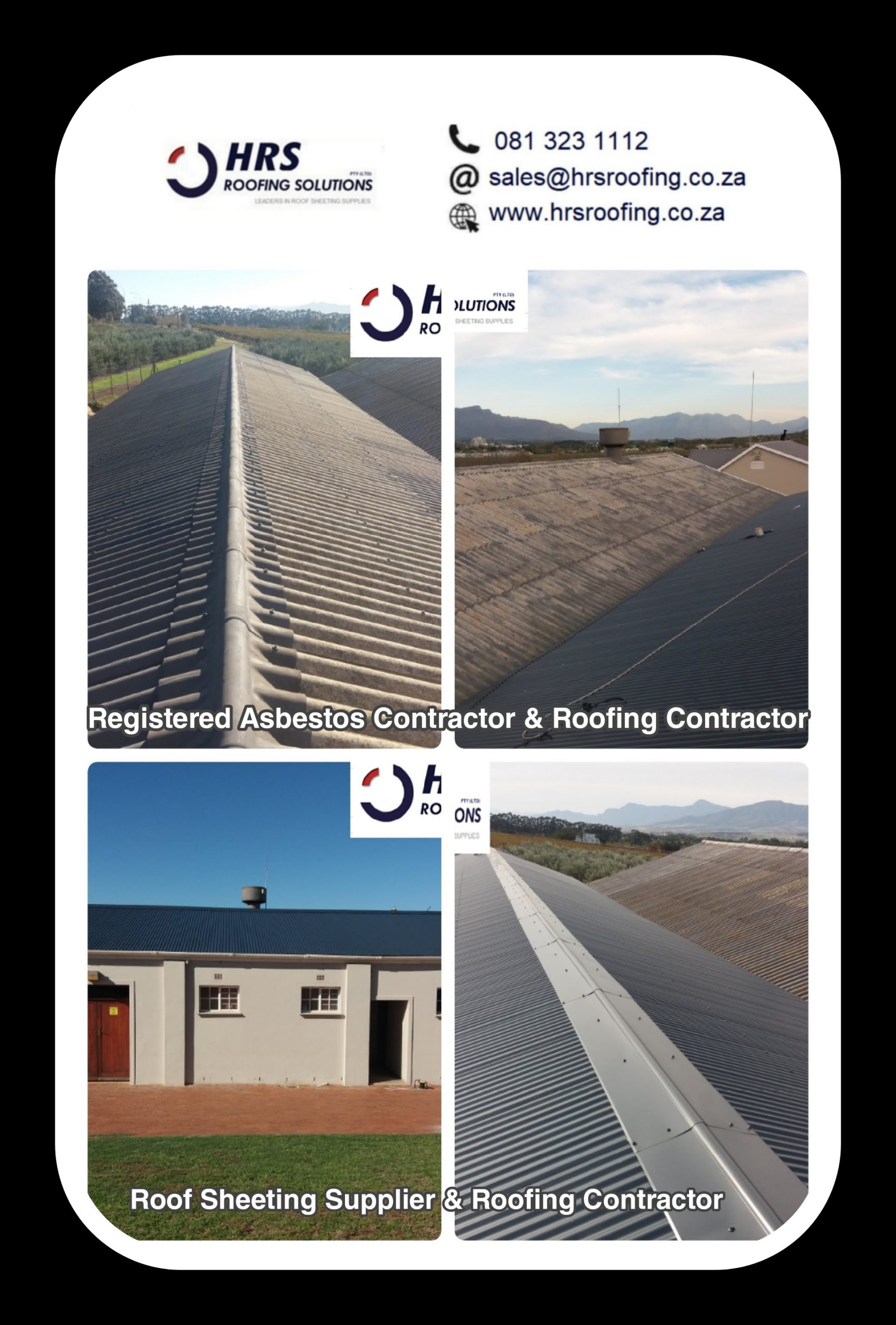 Asbestos roof removal and safe disposal cape town paarl stellenbosch1