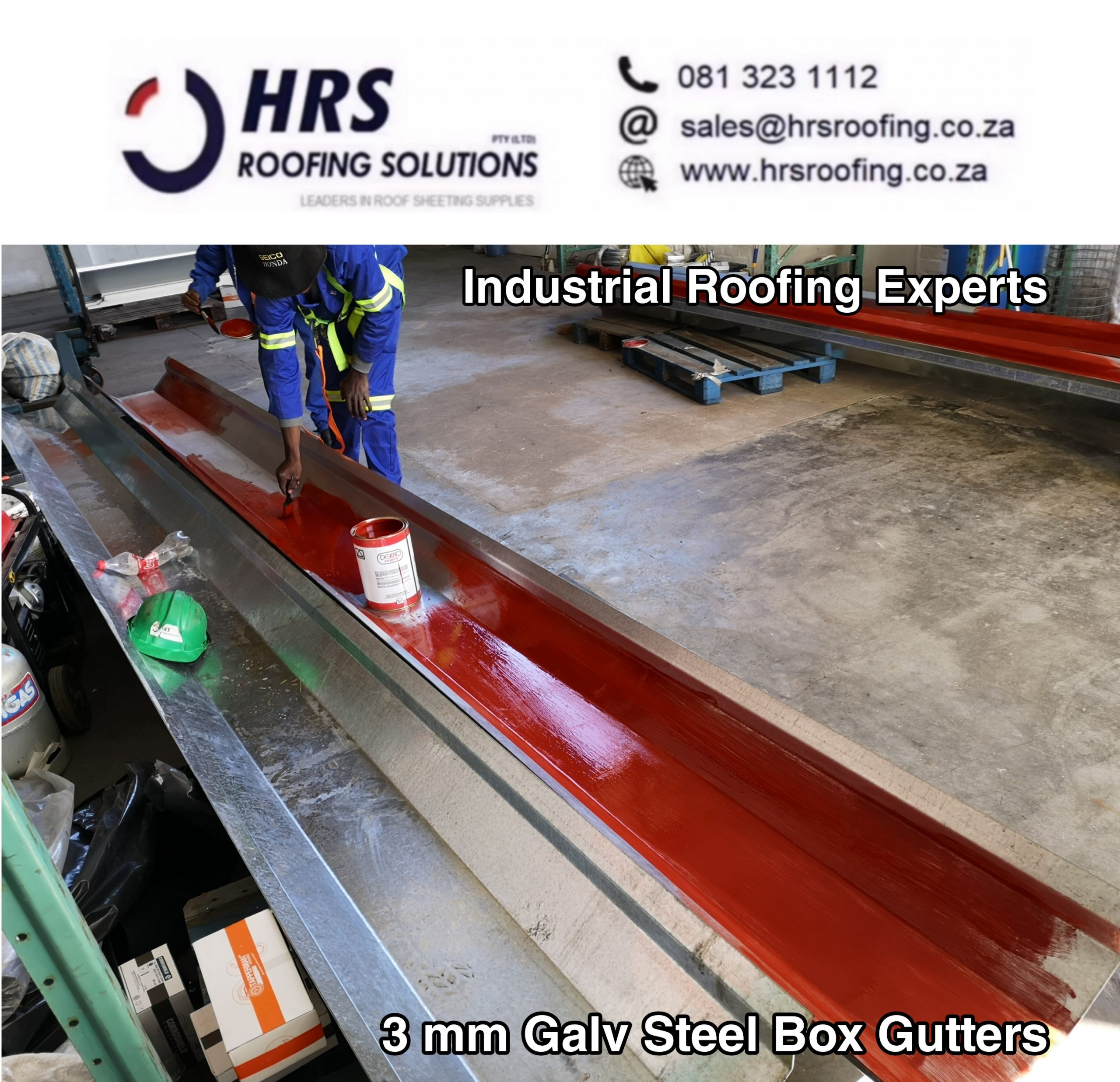 hrs roofing solutions Asbestos roof removals roofing contractors galv steel gutter
