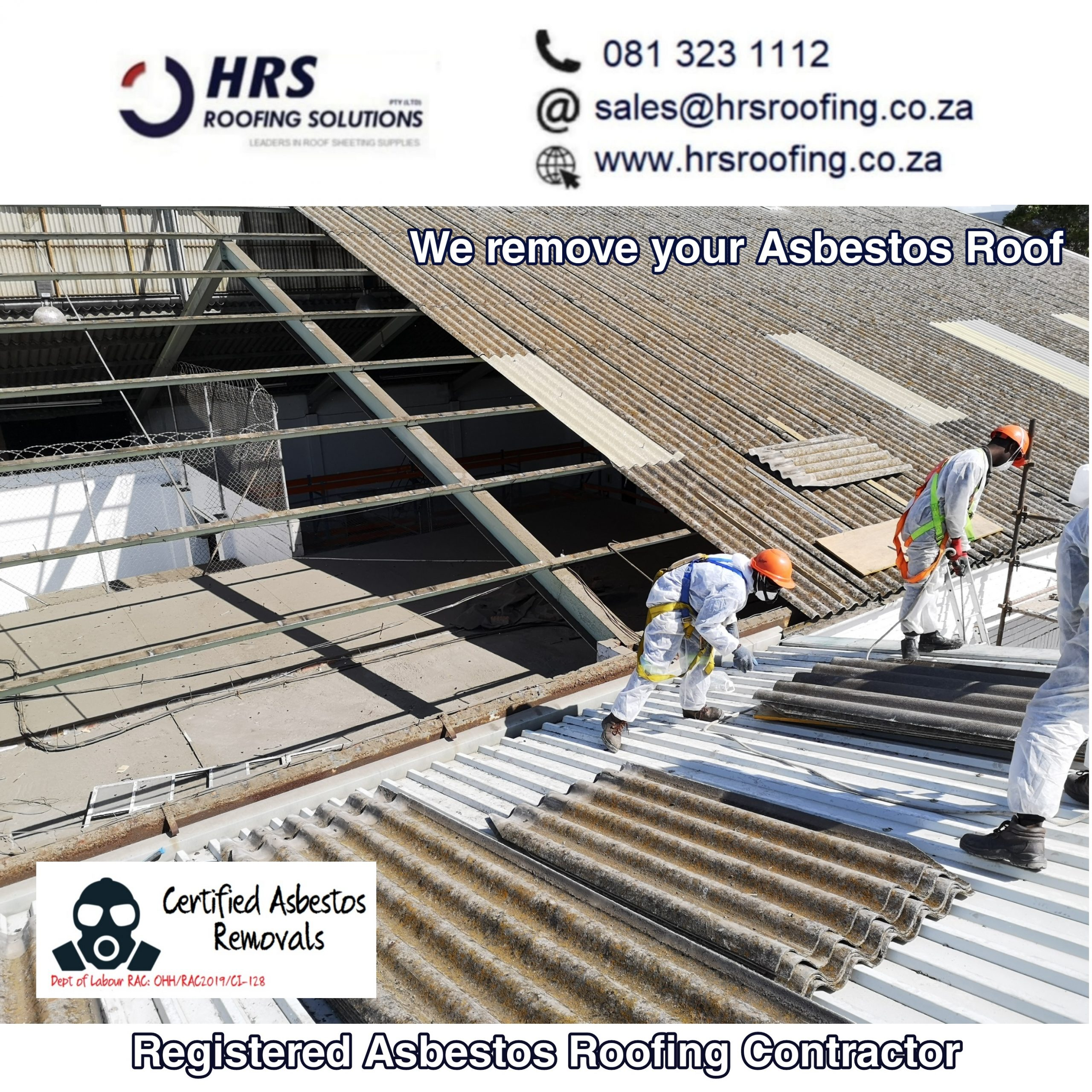 registered Asbestos Contractor hrs roofing solutions cape Town2 scaled - Roofing Gallery