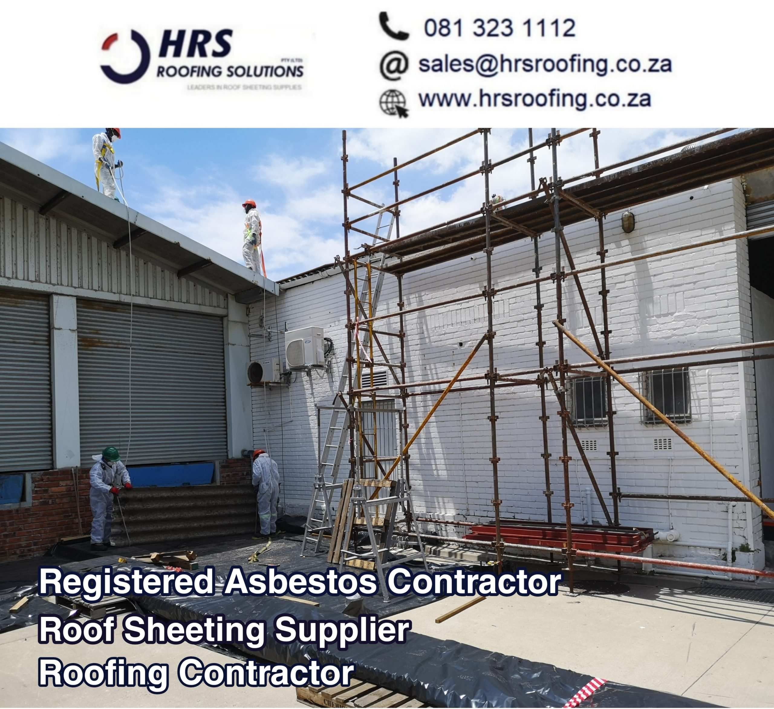 registered Asbestos Contractor hrs roofing solutions paarl scaled - Roofing Gallery