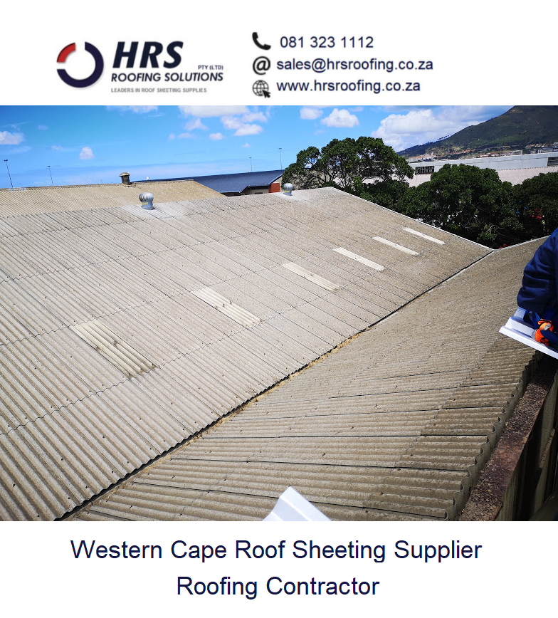 Asbestos Roof REmoval and Asbestos Safe Disposal Cape Towb paarl stellenbosch3 fit and supply new IBR roof Cape Town4 roofing contractor1 - Industrial Roofing & Cladding