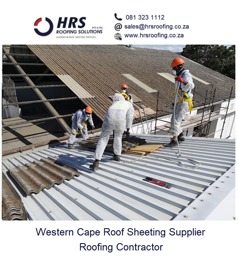 Asbestos Roof REmoval and Asbestos Safe Disposal Cape Towb paarl stellenbosch3 fit and supply new IBR roof Cape Town4 roofing contractor2 - Industrial Roofing & Cladding