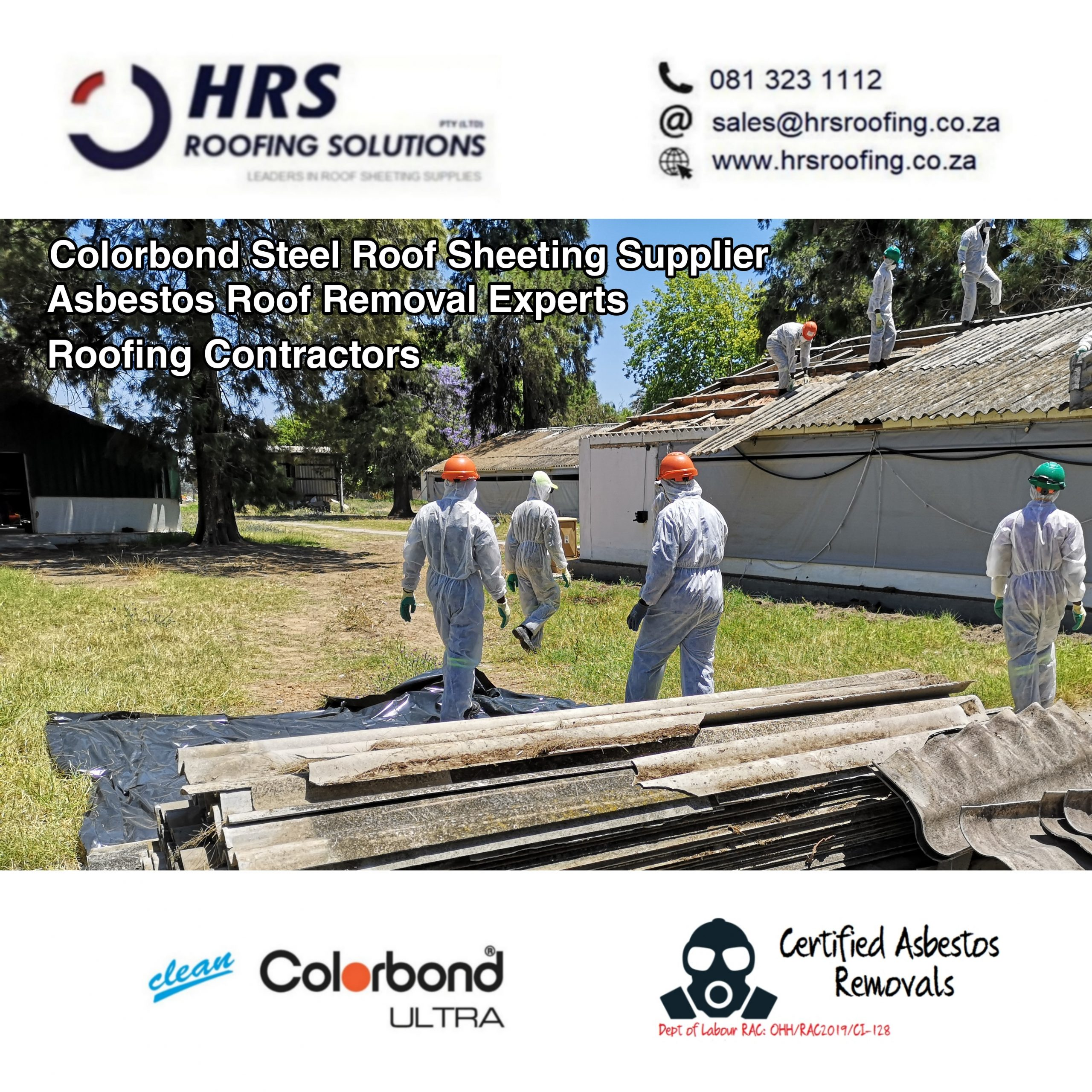 Asbestos roof Removal Cape Town Stellenbosch table view parow Asbestos disposal scaled - Roofing Gallery