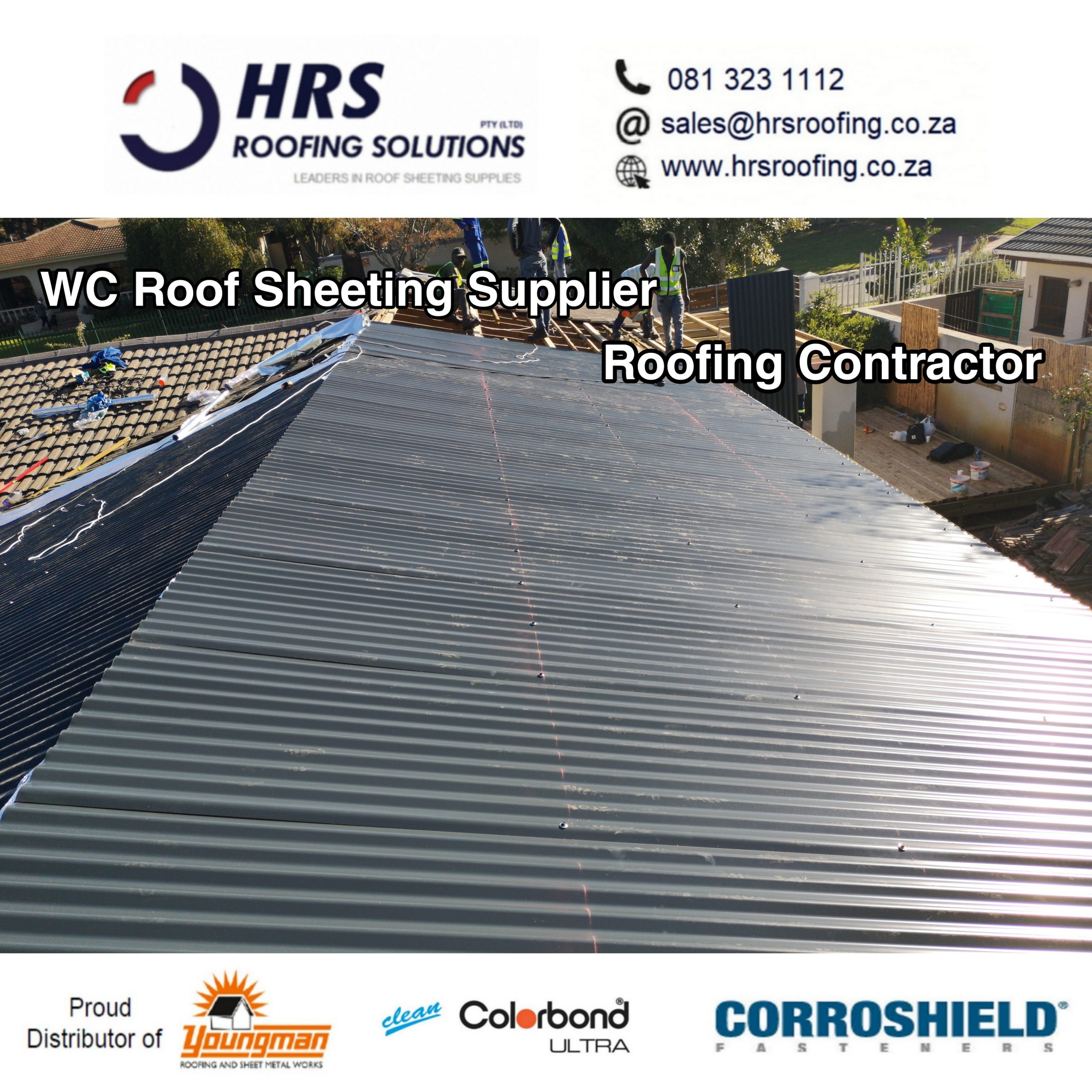 HRS ROOFING ibr corrugated springlok 700 clip lock colorbond roof sheeting supplie scaled - Roofing Gallery