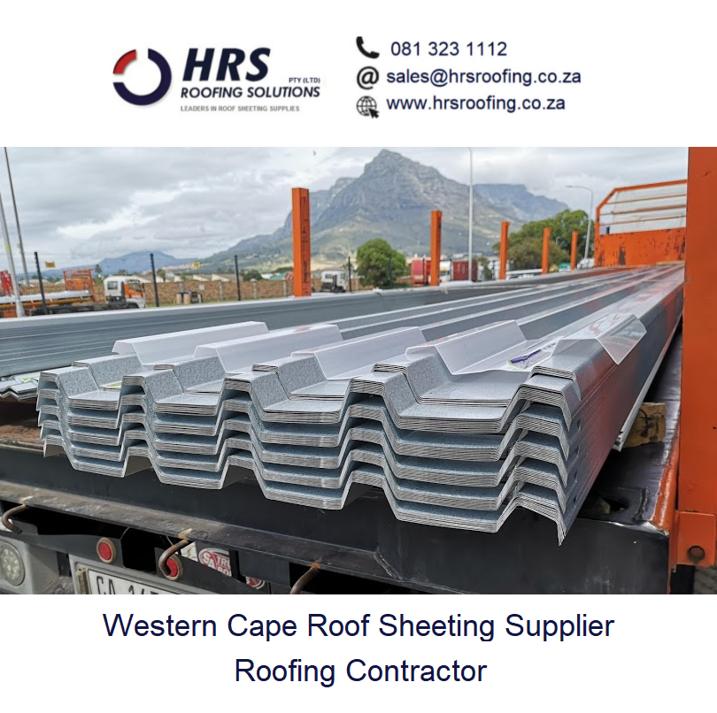 IBR or Corrugated Zincalume or Colorbond roof sheeting supplier deliverirs in Vredendal table view bellville durbanville stellenbosch - Industrial Roofing & Cladding