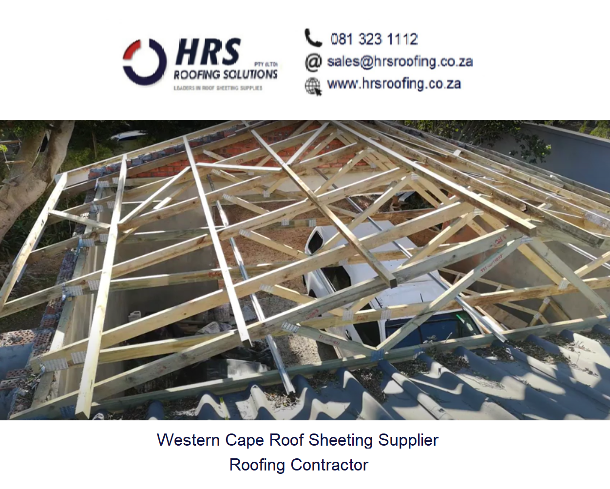 IBR or Corrugated Zincalume or Colorbond roof sheeting supplier deliverirs in Vredendal, table view, bellville, durbanville stellenbosch2 springlok 700 roofing contracot