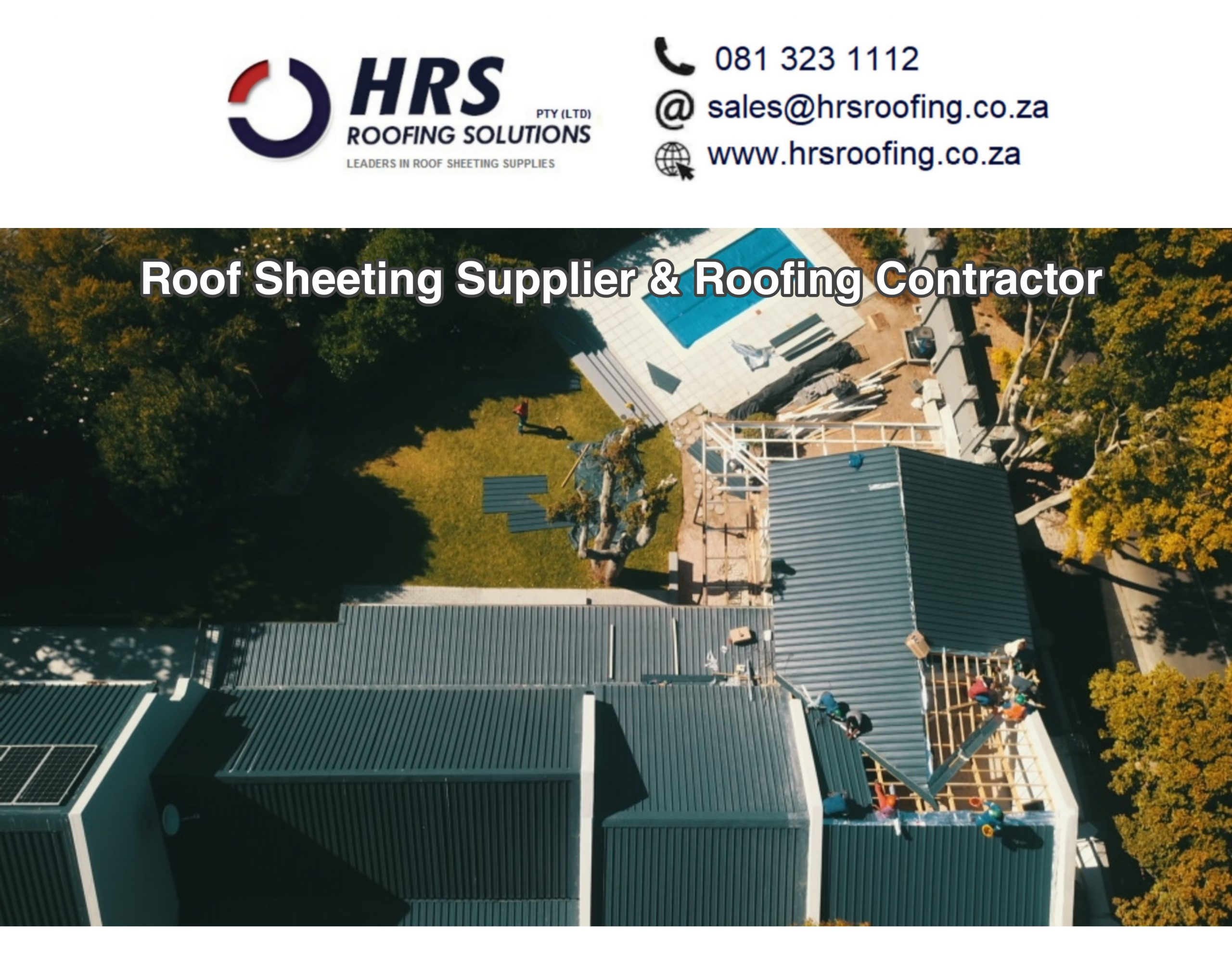 ibr corrugated springlok 700 clip lock colorbond roof sheeting supplier cape Town scaled - Roofing Gallery