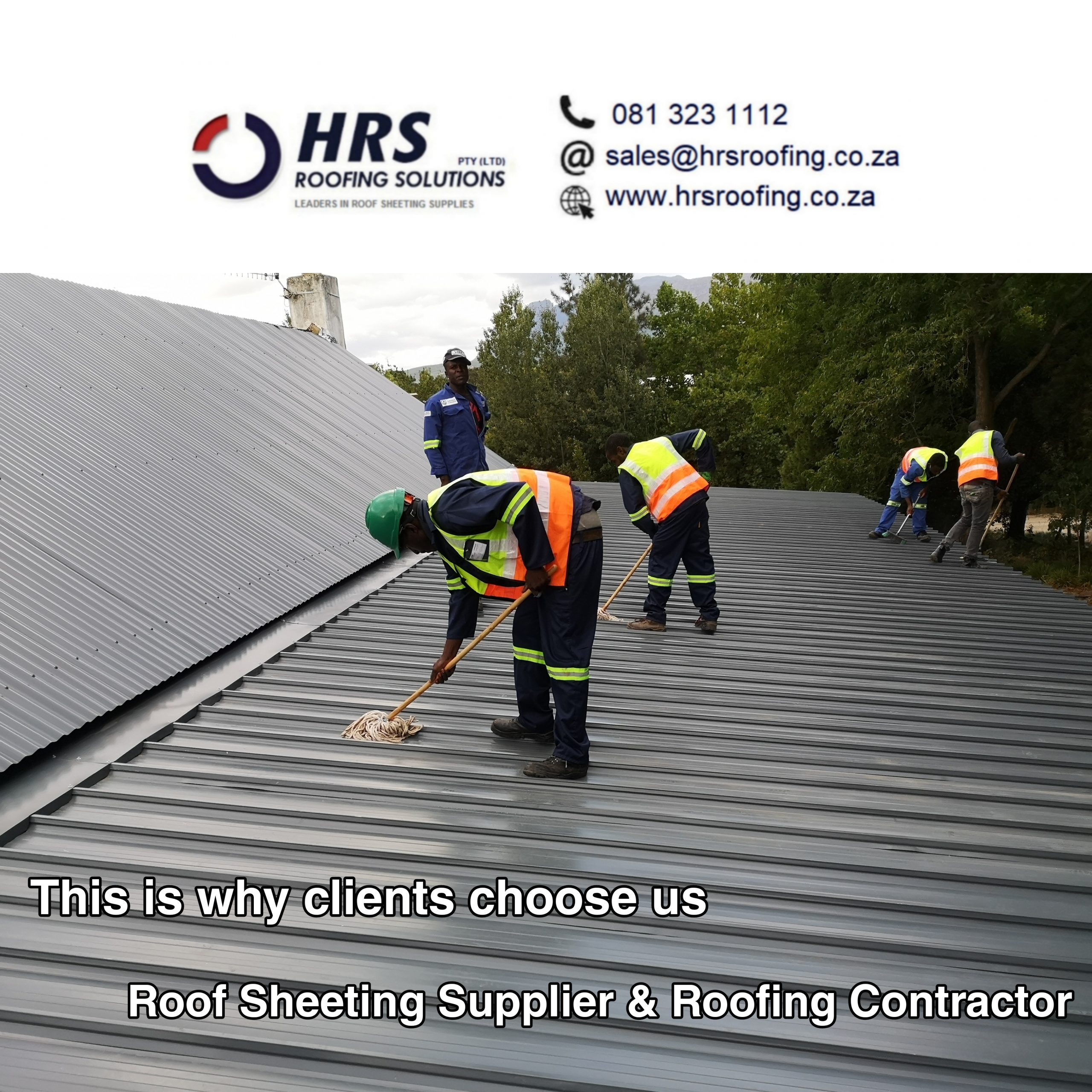 HRS ROOFING SOLUTIONS roofing contractors and services in Paarl, Somerset west 4